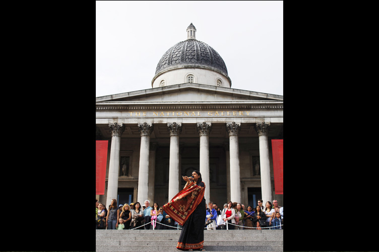 Geetika at Trafalgar Festival hosted by the Mayor of London
