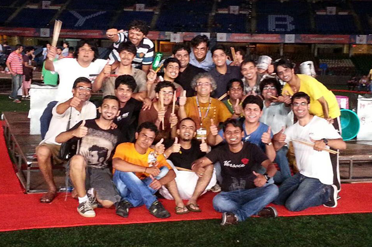Student family of Taufiq RAWR at the ISL 2014